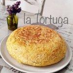 La tortilla de patatas es una de las exquisiteces de La Tortuga