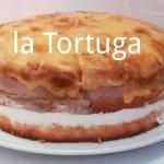 Tarta San Marcos al estilo de La Tortuga....recién hecha. Si tardas no la pruebas!!