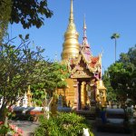 Just a minute from Baan Tawai main road is a beautiful temple