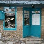 Façade du restaurant, 6 rue de la croix 22100 Dinan