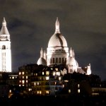 A bit of a zoom; but the Sacre Coeur was clearly visible from our room.