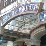 Vaudeville signage