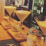 Marshmallow martinis