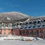 Ramada Hotel & Suites Kranjska Gora in winter time