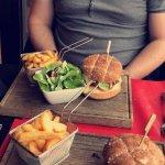 Burger camembert (16euros)