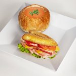 Pick Two with Smoked Cheddar Melt and Tomato Bisque