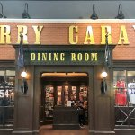 The entrance to Harry Caray's Tavern