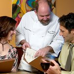 Chef Mark takes you on a stroll through the fresh flavors of his menu.
