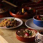 A sumptuous array of Moroccan and Middle Eastern dishes await you at Souq.