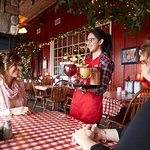 Enjoy a specialty cocktail at Apple Holler's Family Farm, Restaurant, Bakery, Orchard and More