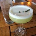 Thyme Martini!