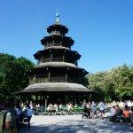 Photo de Biergarten am Chinesischen Turm
