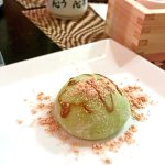 Mochi Ice Cream - Served at a private dinner event at Japa bowl