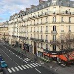 Nossa vista de Paris!