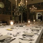 Private fine dining for 20.  This was a 50th Birthday celebration with 5 course tasting menu, wi
