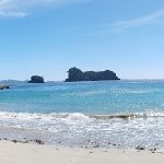 This is actually Cathedral Cove. It's a must see when you visit NZ North Island.