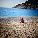 Myrtos Beach Foto