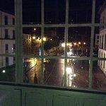 vista del hotel desde el pasadizo