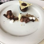 Delicious and yummy desert in downstairs restaurant . 5* - super