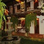 Courtyard and artisan wood work