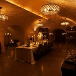 Beautifully curated private event in our caves