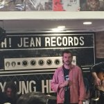 Horace Bones played a rad instore