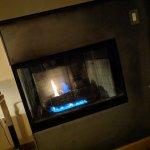 Fireplace room 309