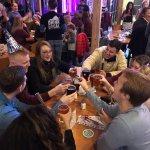 Good beer; good food; good times!