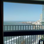 Vista desde la habitación del hotel Piso 21.