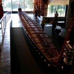 Maori kayak exhibit