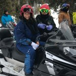 Excited about snowmobiling!!
