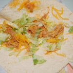 This is there Chicken Soft Taco :O