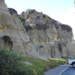 Sandstone sculpted by nature (at path origins)
