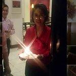 Birthday room serenade! ♪♩♬