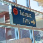 The closest I got to Tahquitz Falls was this sign