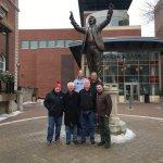Herb Brooks Statue.