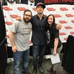 We met Jon Bernthal (Shane on TWD/ The Punisher).