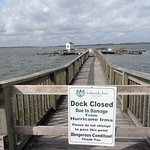 The beloved Pier is closed.