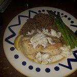 Grouper Fish plate