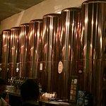 Restaurante muito bem frequentado, cervejas bem elaboradas e opções de comidas bem interessantes