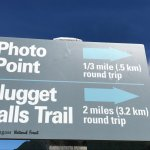 Easy to follow trail signage