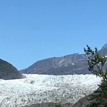 Closer look at Mendenhall Glacier