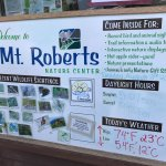 Nature Center information board