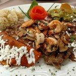 Steak and Shrip