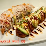 Special For 2B ( Dragon Roll and Miyagi Roll )