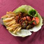 Chicken Sizzler Dish