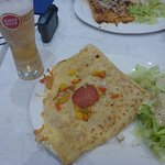 Super Bock & Meat Crepe