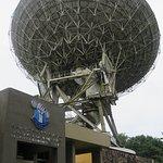 Satellete earth station old anntena