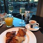Desayuno de lujo con grandes vistas