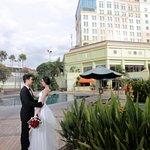Wedding on Pool side